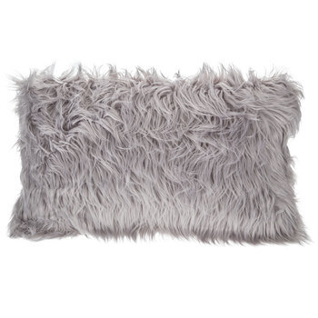 Rectangular Faux Fur Pillow
