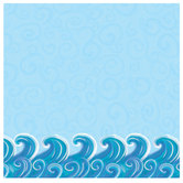 "Airbrushed Wave Scrapbook Paper - 12"" x 12"""