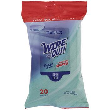 Fresh Scent Antibacterial Wipes