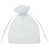 White Sheer Wedding Favor Bags