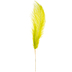 Bright Green Dyed Ostrich Feather Pick