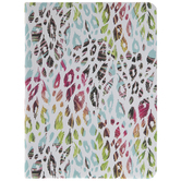 Multi-Color Leopard Print Feathers Journal
