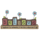 Believe In Miracles Decor