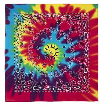 Tie-Dye Paisley Bandana