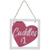 Cuddles $1 Wood Wall Decor