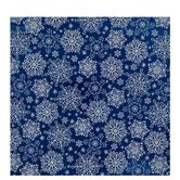 Blue & White Glitter Snowflakes Gift Wrap