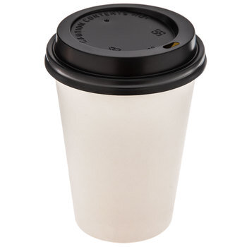 White Paper Cups With Lids