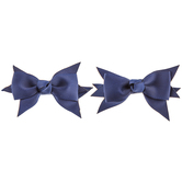 Grosgrain Bow Hair Clips - Small