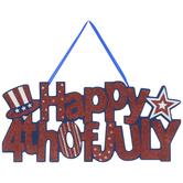 Happy 4th Of July Wood Wall Decor