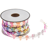 Rainbow Sheer Gimp Trim - 5/8""
