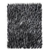Leopard Print Long Pile Faux Fur