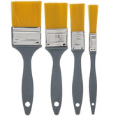 All Purpose Wax & Paint Brushes - 4 Piece Set