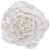 White Flowers Adhesive Wall Art