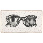 Leopard Sunglasses Dot Jewelry Dish