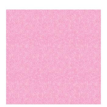 "Pink Swirls Scrapbook Paper - 12"" x 12"""