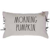 Morning Pumpkin Pillow