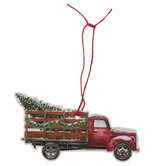 Truck & Christmas Tree Gift Tags