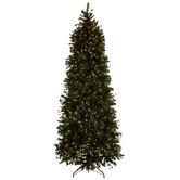 Quick Set Yuletide Pine Pre-Lit Christmas Tree - 9'
