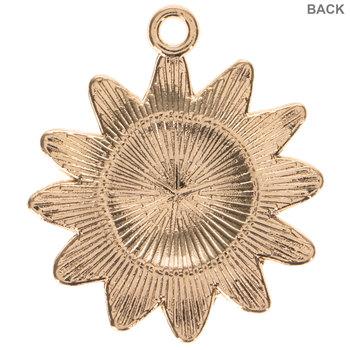 Sunflower Charm Embellishments