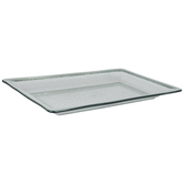 Green Textured Glass Look Tray