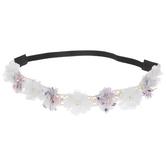 Flowers, Pearls & Lace Headband