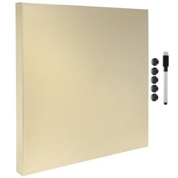 Gold Magnetic Metal Dry Erase Board