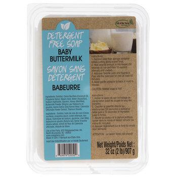 Baby Buttermilk Detergent Free Soap