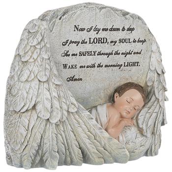 Bedtime Prayer Angel Wing Decor
