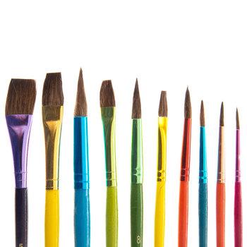 Paint Brushes - 10 Piece Set