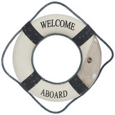 Welcome Aboard Buoy Wall Decor