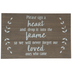 Heart Drop Wood Decor