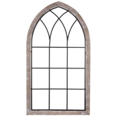 Cathedral Window Wood Wall Decor