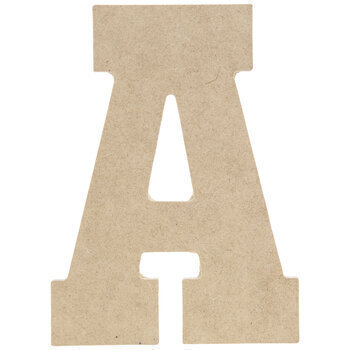 Wood Letter A - 5""