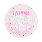 Twinkle Twinkle Little One Paper Plates - Small