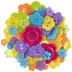 Bright Flower Buttons