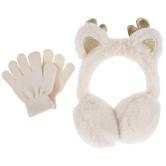 Reindeer Earmuffs & Gloves