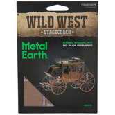 Stagecoach Metal Model Kit