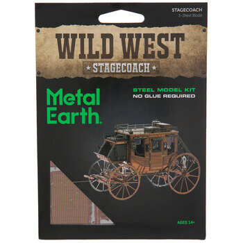 Stagecoach Metal Model Kit