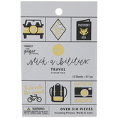 Travel Foil Stickers