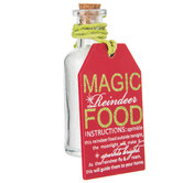 Magic Reindeer Food Bottle Decor