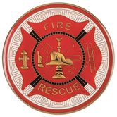 Fire Rescue Medallion