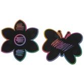 Butterflies & Flowers Scratch Art Craft Kit