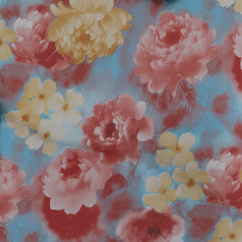 Floral Foil Iron-On Transfer