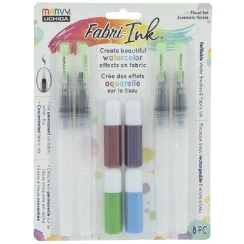 Watercolor Ink Fabric Pens - 4 Piece Set