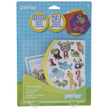 Tiny Animals Perler Bead Kit