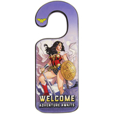 Wonder Woman Wood Door Hanger