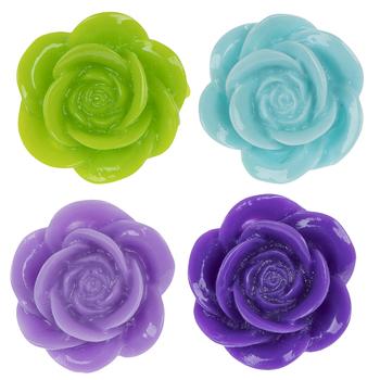 Rose Shank Buttons