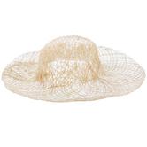 Natural Sinamay Hat