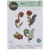 Sizzix Thinlits Wild Bloom Dies