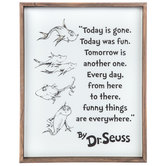 Today Is Gone Wood Wall Decor